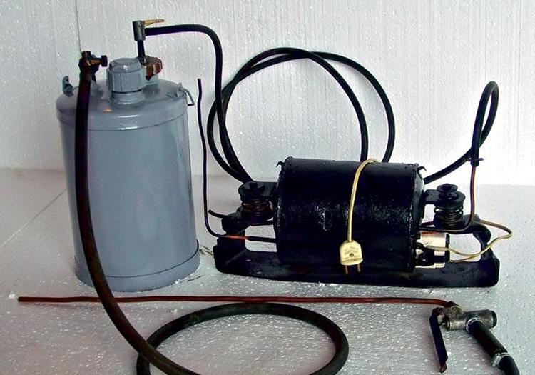 kaip pasidaryti varpos vakuuminį siurblį)